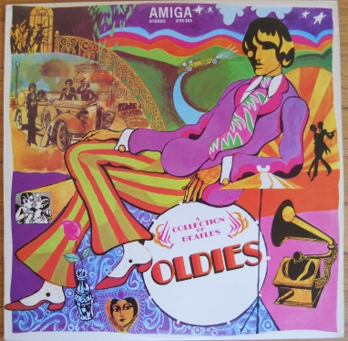 "Amiga pressing of the compilation ""A Collection of Beatles Oldies"""