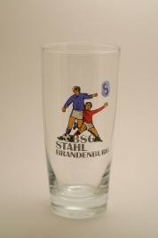 "BSG Stahl Brandenburg (20th place, 7 seasons, 174 points), nicknamed ""the Juice Drinkers"" for their choice of glassware."