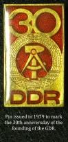 Abzeichen - DDR 30